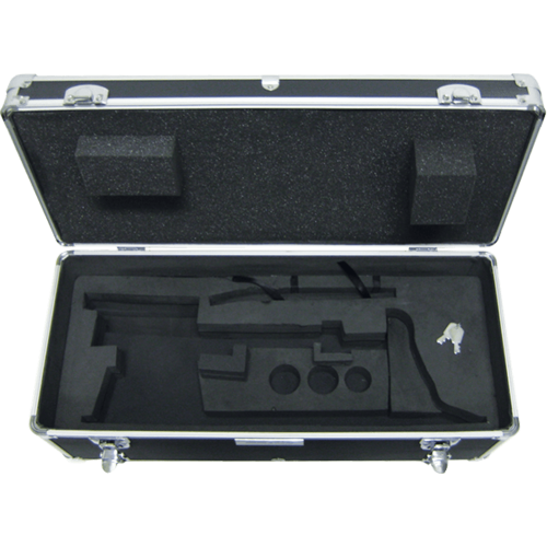 Hard carrying case with lock for TBB