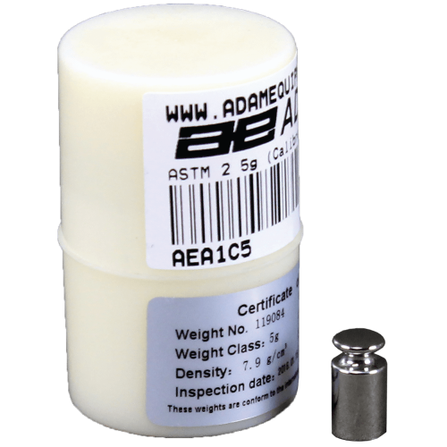 F1 5g Calibration Weight