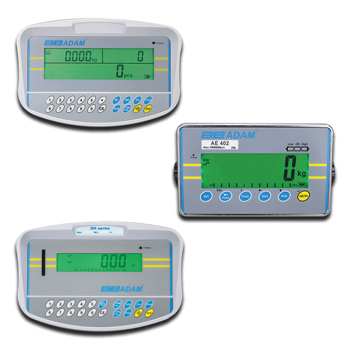 Weighing Indicators From Adam Equipment