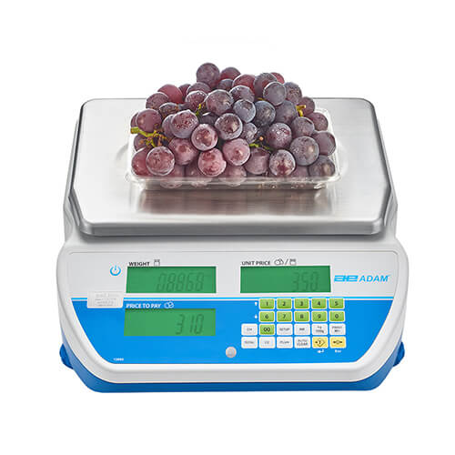 SWZ Retail Scale Covered With Apples